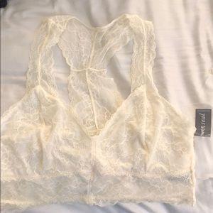 8056e65c30d10 Wet Seal Intimates   Sleepwear - NWT Wet Seal Plus Size Lace Racerback  Bralette 2X
